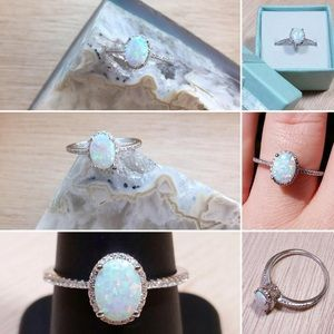 AlphaVariable Jewelry - AlphaVariable Opal Ring Sterling Silver
